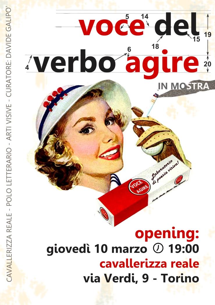 VOCE del verbo AGIRE locandina.def